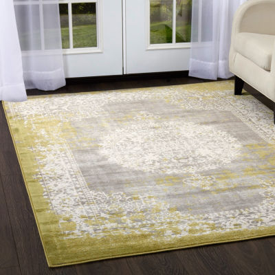Home Dynamix Sunderland Raelyn Medallion Rectangular Rug