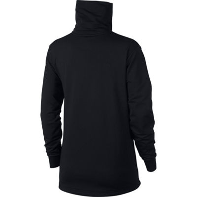 Nike Long Sleeve Cowl Neck Sweatshirt-Womens
