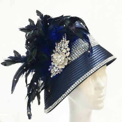 Whittall & Shon Cloche Derby Hat