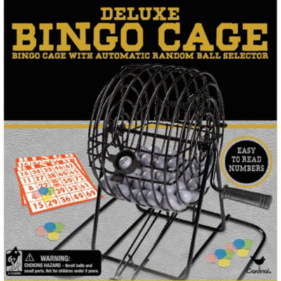 Cardinal Deluxe Wire Cage Bingo Set
