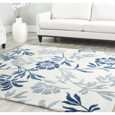 Safavieh Capri Collection Gervase Floral Square Area Rug
