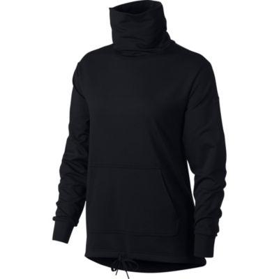 Nike Long Sleeve Cowl Neck Sweatshirt-Womens