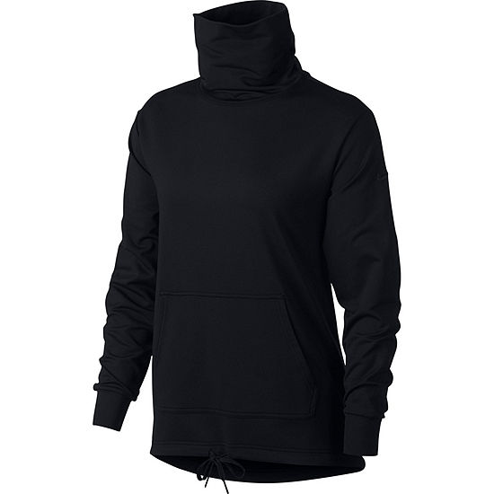 bd0ad41af Nike Long Sleeve Cowl Neck Sweatshirt-Womens - JCPenney