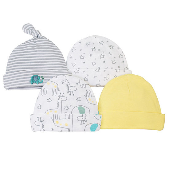 Gerber Unisex 4-pc. Baby Hat
