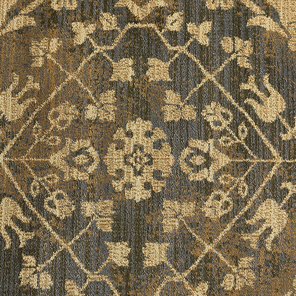 Tayse Fiona Transitional Border Oval Area Rug