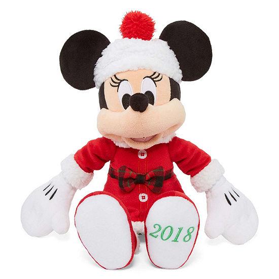 Disney Collection Holiday Minnie Mouse Medium Plush