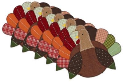 Design Imports Turkey Embellished Placemat Set of 6