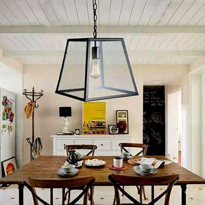 Warehouse Of Tiffany Minerva 1-light Black Edison Lamp with Bulb