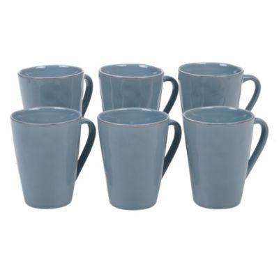 Certified International Harmony Teal Coffee Mug