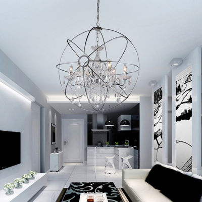 Warehouse Of Tiffany Saturn's Ring 32-inch Chandelier