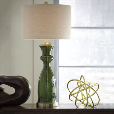 Signature Design by Ashley® Ambrogio Glass Table Lamp