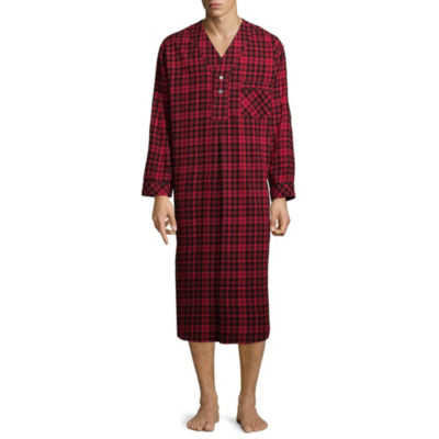Stafford Men's Flannel Nightshirt
