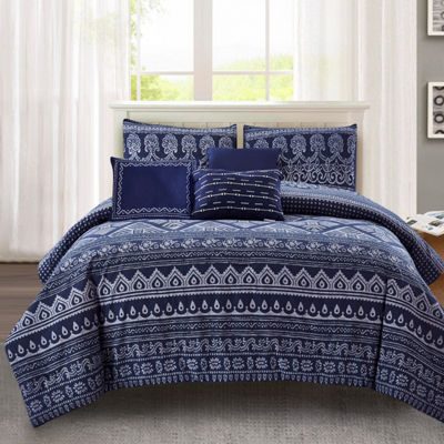Wonder Home Jaipur 6-pc. Cotton Print Comforter Set