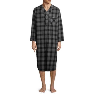 Stafford Men's Flannel Nightshirt - Big