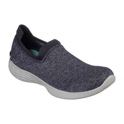 Skechers You Womens Walking Shoes Slip-on