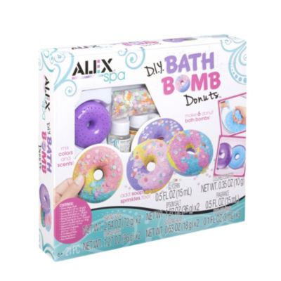 ALEX Spa DIY Bath Bomb Donuts