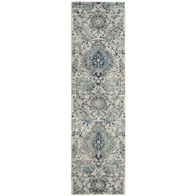 Safavieh Madison Collection Baldric Floral Runner Rug