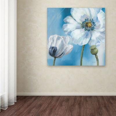 Trademark Fine Art Lisa Audit Blue Dance III Giclee Canvas Art