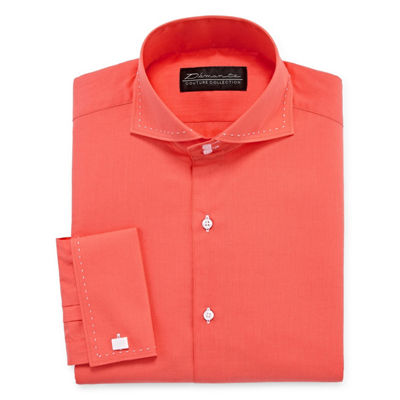 Damante Modern Long Sleeve Woven Dress Shirt