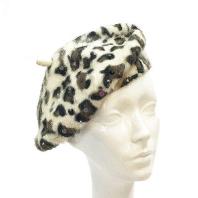 Whittall & Shon Animal Beret Derby Hat