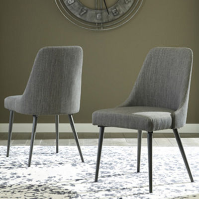 Signature Design by Ashley® Set of 2 Coverty Upholstered Dining Side Chairs