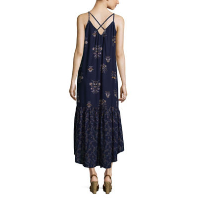 a.n.a Sleeveless Paisley Shift Dress
