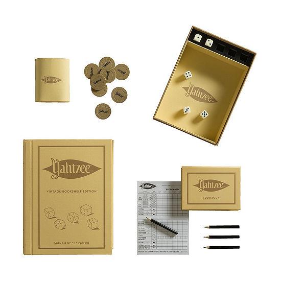 Winning Solutions Yahtzee Linen Book Vintage Edition