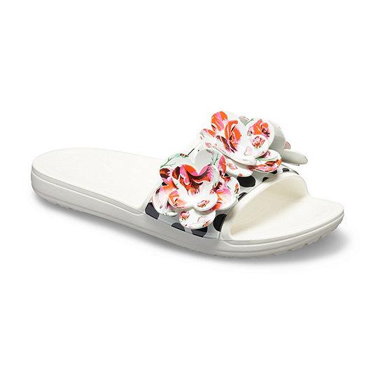 9d5db36f4ca3b Crocs Womens Drew X Crocs Slide Sandals - JCPenney
