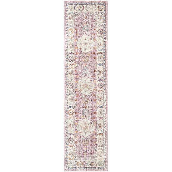 Safavieh Illusion Collection Jake Oriental Runner Rug