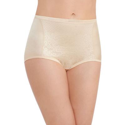 Vanity Fair® Body Caress Smoothing Comfort Lace Brief Panties - 13262