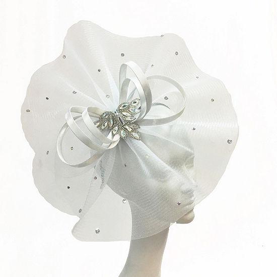 Whittall & Shon Loop Fascinator Derby Hat