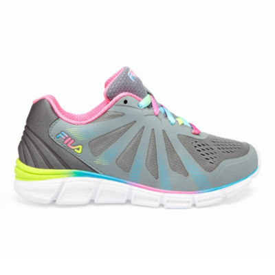 Fila Fraction 2 Glitter Girls Running Shoes Lace-up - Little Kids/Big Kids