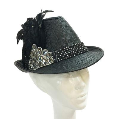 Whittall & Shon Mini Fedora Derby Hat