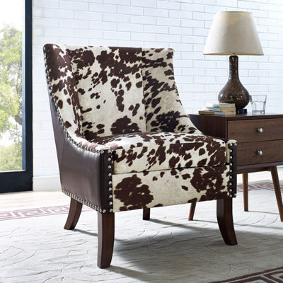 Hair-On-Hyde Accent Chair