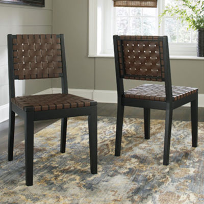 Signature Design by Ashley® Set of 2 Glosco Dining Side Chairs
