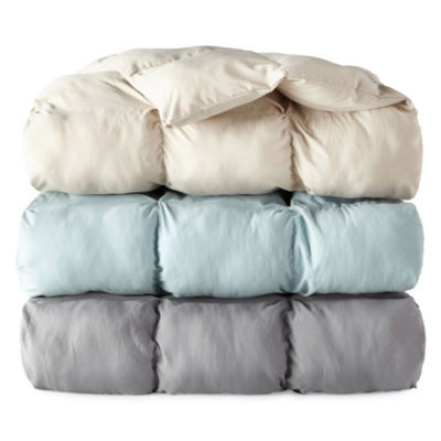 North Pole Trading Co Down Alternative Pleated Puffer Throw