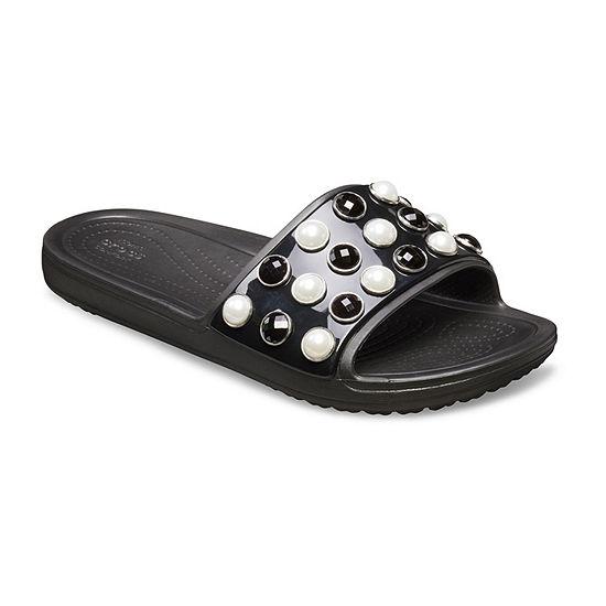 13769b8d86b32 Crocs Drew X Crocs Womens Slide Sandals JCPenney