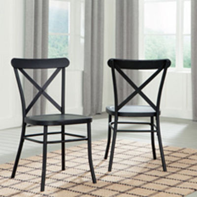 Signature Design by Ashley® Set of 2 Minnona Dining Side Chairs
