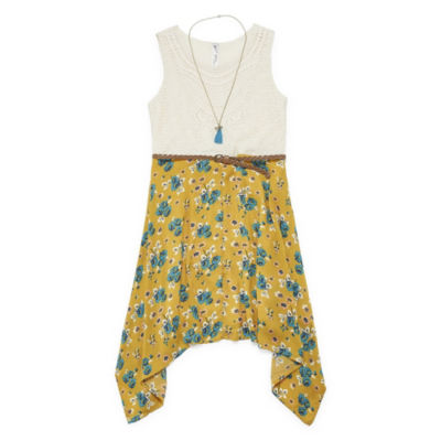 Knit Works Sleeveless Shirt Dress Girls