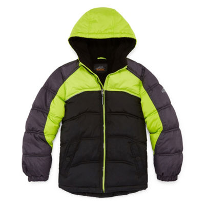 Pacific Trail - Boys Heavyweight Puffer Jacket-Big Kid
