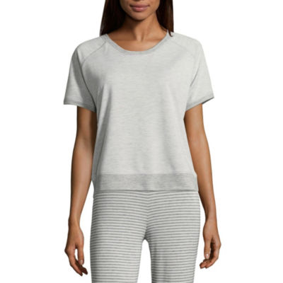 Ambrielle French Terry  Pajama Top