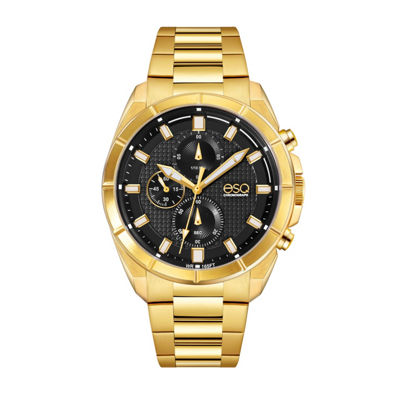Esq Mens Gold Tone Bracelet Watch-37esq013101a
