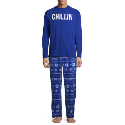 North Pole Trading Company Chillin 2 Piece Pajama Set -Men's