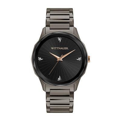 Wittnauer Mens Gray Bracelet Watch-Wn3095