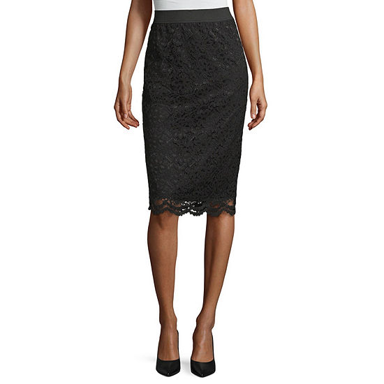 Worthington Lace Pencil Skirt