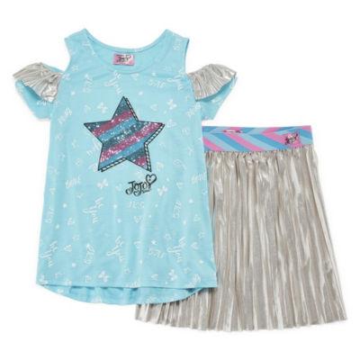 JoJo Siwa 2-pc. Skirt Set Preschool Girls