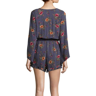 Arizona Long Sleeve Romper-Juniors