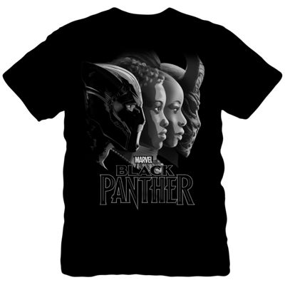 Black Panther Profile Graphic Tee