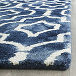 Safavieh Dip Dye Collection Devnet Geometric Runner Rug