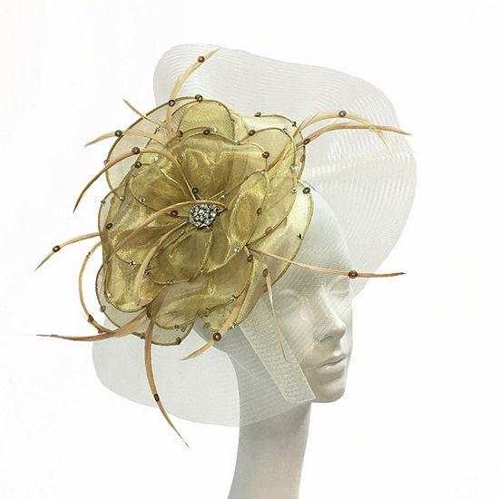 Whittall & Shon Floral Fascinator Derby Hat